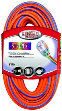 Stripes™ and Cool Colors™ 12/3 Outdoor Extension Cords