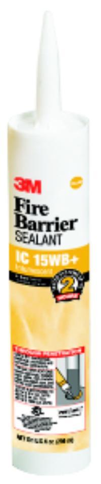 10.1floz 3M™ Fire Barrier Sealant IC 15WB+