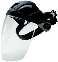 Turboshield™ Black Faceshields