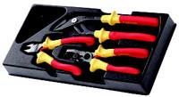 FACOM 3 Piece VE Pliers Set