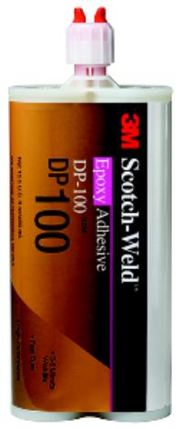 400ml 3M™ Scotch-Weld™ Epoxy Adhesive DP100 Clear