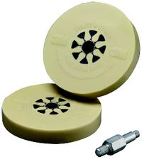 4IN  3M™ Stripe Off Wheel With Mandrel