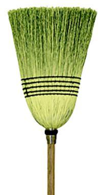 12IN  Parlor Corn Broom