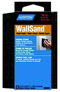 WallSand 4 7/8IN x2 7/8IN x1IN  Single Angle Sanding Sponge