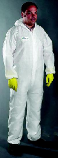 Large POSIWEAR M3 Coverall with Attached Hood