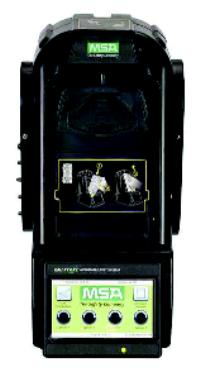 Use with Altair 5/5X Multigas Detector, no charging GALAXY® GX2 Automated Gas Detector Test System