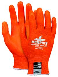 Small/7 Cut Resistant Nitrile Foam Palm Gloves