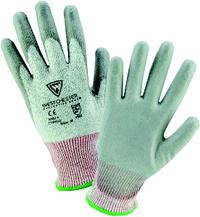 Posigrip Small/7 PU Palm Coated Speckle Gray HPPE Gloves