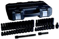 44 Piece Impact Standard & Deep Impact Socket Set