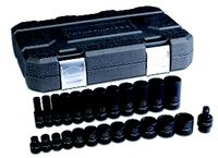25 Piece Standard/Deep Impact Socket Set