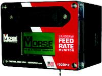 Band Saw Feed Rate Monitor