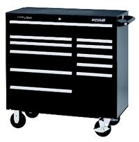 Professional Series Black 11-Drawer Roller Cabinet