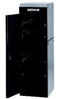Professional HD Series Black Full Height Side Locker