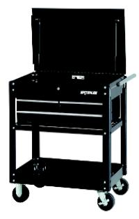 Specialty Series Black 3-Drawer Utility Cart