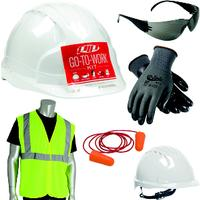 Large/XLarge Go-To-Work Kit with Cap Style Hard Hat