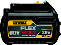 FLEXVOLT™ 20V - 60V 6.0 AH Battery