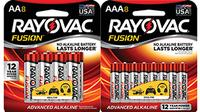 Fusion AA Alkaline Batteries