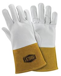 2XLarge/11 Tig Welder Gauntlet Cuff Gloves