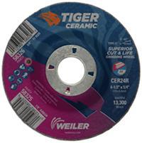 4 1/2IN x 1/4IN  Tiger® Ceramic Grinding Wheels