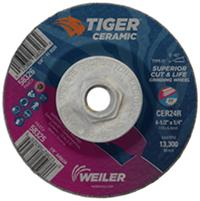 4 1/2IN x 1/4IN  Tiger® Ceramic Grinding Wheels