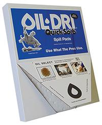 Quick-Sorb 15IN x19IN  Oil Select Sorbent Pad Dispenser Box