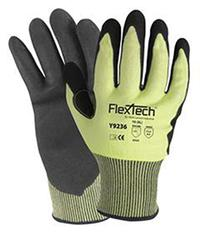 Y9236 Cool Series FlexTech™ XSmall/6 Hi-Vis Cut Resistant Gloves