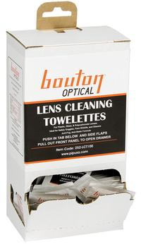 100 per box Lens Cleaning Towelette Station