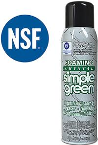 20oz Aerosol Foaming Crystal Cleaner / Degreaser
