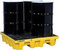 4-Drum Spill Control Pallet