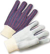 Large/9 Cowhide Leather Palm Gloves