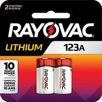 CR123A Lithium Digital Camera Batteries