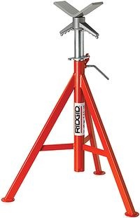 V Head High Pipe Stand Pipe Stands