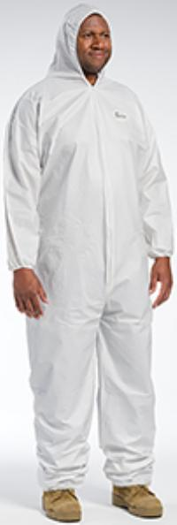 XLarge POSIWEAR BA Coverall Hood with Elastic Wrist & Ankle
