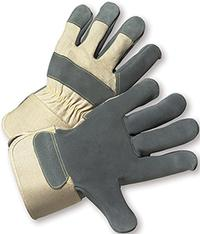 Large/9 Premium Cowhide Leather Palm Gloves