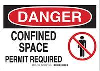 7IN x10IN  Danger Sign