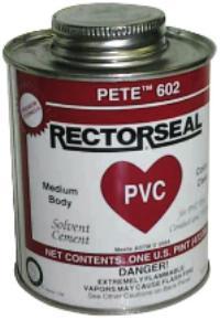 Pete™ 602  1/2 pt. PVC Cements