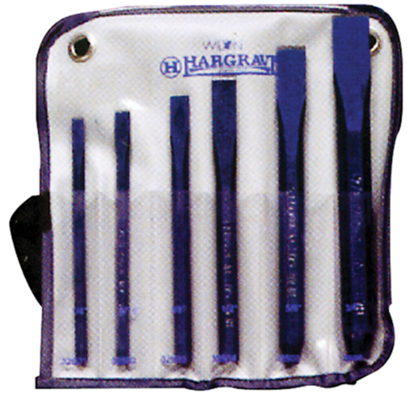 "Hargrave 6 Piece Kit (1/4"" to 3/4"")  Chisel Kit"