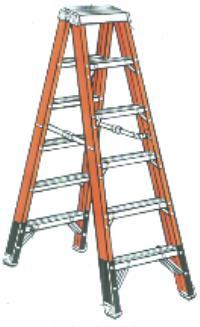8' Twin Step Ladders