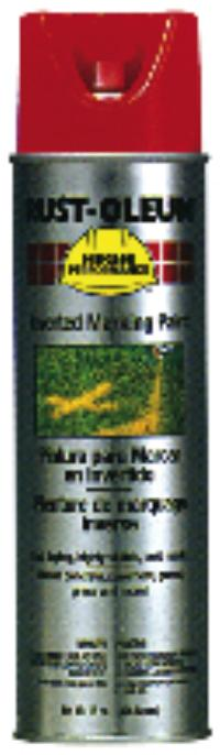 Safety Red Inverted Marking Paints